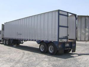 Authorities say theives stole an 18-wheeler trailer like this one from Williams Brothers Trucking in New Hill early May 11, 2011.