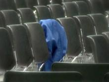 Wake Forest-Rolesville High has empty graduation seats