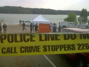 Police and rescuers searched for a Raleigh man Saturday after his boat was found adrift in Lake Wheeler.