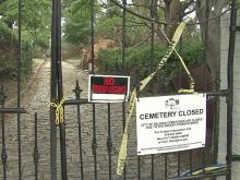 Three cemeteries in Raleigh, including the oldest public one, City Cemetery, have been closed since the April 16, 2011, tornado.