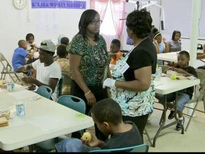 A summer program at Ministers Outreach Tabernacle church in Henderson offers activities and meals to children in the summer.