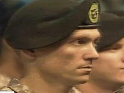 Ninety-six soldiers donned their green berets at the conclusion of an Army Special Forces graduation ceremony in Fayetteville on June 30, 2011.