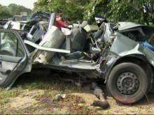 Wrong-way driver, teen die in Nash County crash