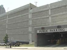 Eyesore Raleigh parking deck