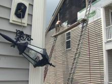 Tornado damage repair