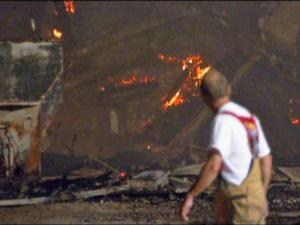 Halifax Fertilizer Co Inc, 1107 S. Dennis St., in Enfield, burned to the ground early Saturday.