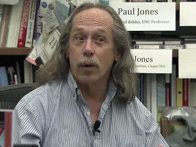 University of North Carolina at Chapel Hill professor Paul Jones