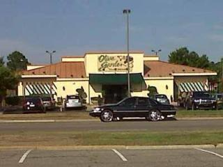 The Olive Garden restaurant at 234 N. McPherson Church Road in Fayetteville