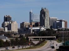 2012 Downtown Raleigh Skyline