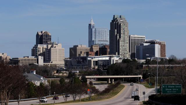 2012 Downtown Raleigh Skyline