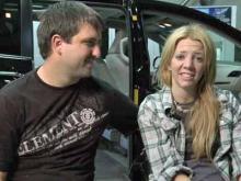 Rachelle Friedman and Chris Chapman got a new Toyota Sienna minivan converted for wheelchair access.