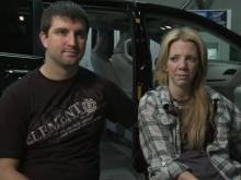 Donated van gives bride freedom to move