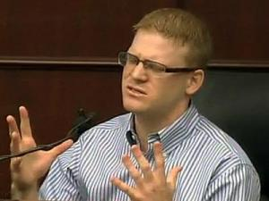 Joshua Stepp testified Aug. 30, 2011, in his capital murder trial.