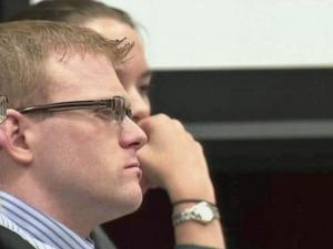 Joshua Stepp listens to closing arguments on Sept. 6, 2011, in his first-degree murder trial.
