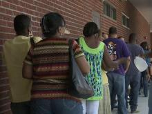 Hundreds of Irene victims seek food help in Halifax County