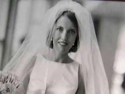 Sara Manley Harvey on her wedding day, just weeks before she was killed in the Sept. 11, 2001, attack on the World Trade Center.
