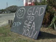 Hatteras Island business owners are glad to see the return of tourists.