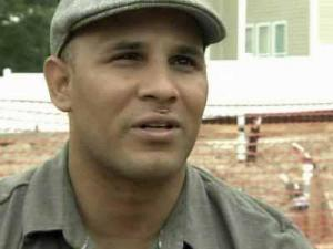 Sgt. Carlos Evans lost both his legs and his left hand when an IED exploded in Afghanistan in 2010.