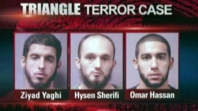 Triangle terror case: Yaghi, Sherifi, Hassan