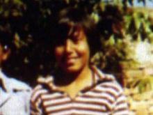 Kisan Upadhaya as a child in Nepal