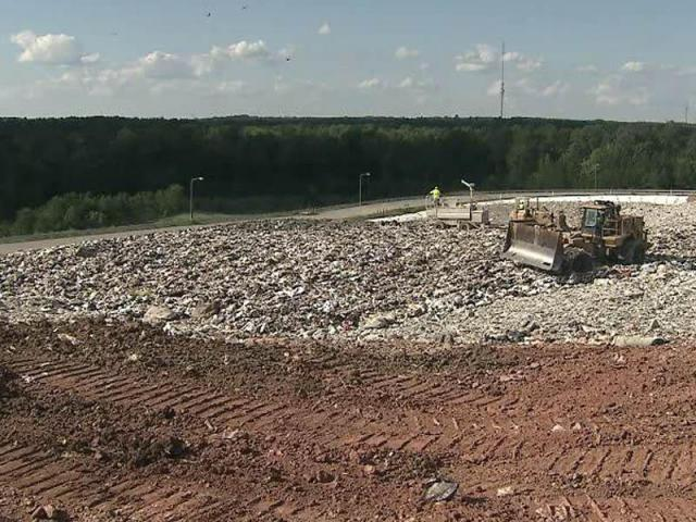 The South Wake Landfill in Holly Springs opened in 2008 and is expected to handle area trash until the mid-2030s.<br/>Photographer: Tom Normanly