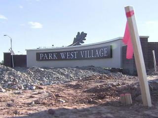 Park West Village shopping center in Morrisville