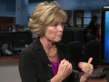 """Pam Schmid, an author and health and fitness expert, talks about her new book, """"101 Things You Should Know About Breast Cancer."""""""