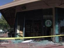 SUV plows into Raleigh Starbucks