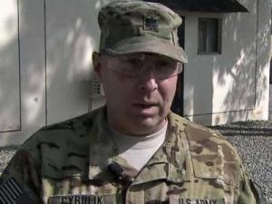 1st Battalion Commander Lt. Col. John Cyrulik