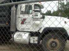 R.E. Goodson Construction dump truck