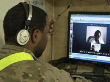 video chats with soldiers