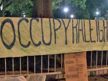 'Occupy Raleigh' protesters rally overnight