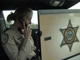 Each day, Johnston County Sheriff's Deputy Charlotte Yeargin and fellow deputies patrol the roads  around high schools in the county to help curb speeding among teens.