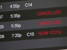 RDU flights canceled, delayed as snow sweeps Northeast
