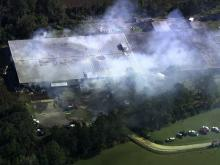 Crews battle fire at Kinston textile plant