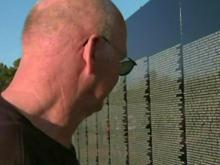 Vets visit Vietnam Wall replica in Fayetteville