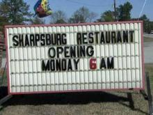 Sharpsburg restaurant reopens