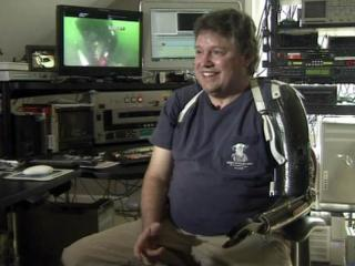 Underwater photographer Rick Allen was seriously burned and lost his left arm in a Jan. 3, 2011, explosion at his Fayetteville home.