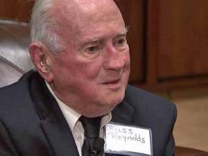World War II veteran Russ Reynolds