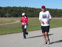 A little more than a year after a hit-and-run accident nearly took his life, Carl Demarais completed the Outer Banks Marathon last weekend.