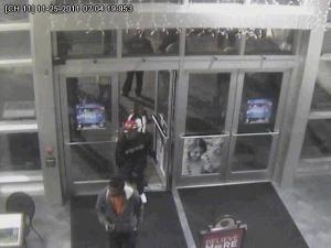 Detectives want to talk to the three men pictured here about a shooting at Cross Creek Mall in Fayetteville.