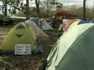 Occupy Raleigh new camp