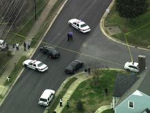 At least two people were shot at a home on Crest Street in Durham Monday afternoon, police said. Sky 5 aerial footage clearly showed that at least one person was killed in the shooting.