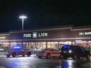 A look at the Food Lion in Wendell where three people were shot on Dec. 7, 2011.