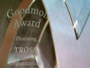 The Goodmon Awards were held Dec. 7, 2011, in Durham.