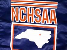 NCHSAA logo, NC High School Athletic Association