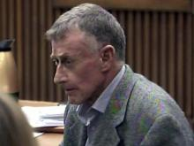 Mike Peterson in court