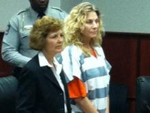 Amanda Haze appears in a Wake County courtroom Dec. 16, 2011.