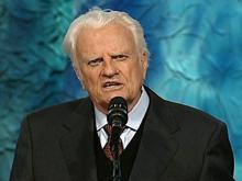 Billy Graham in 2002