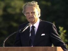 Billy Graham in 1991